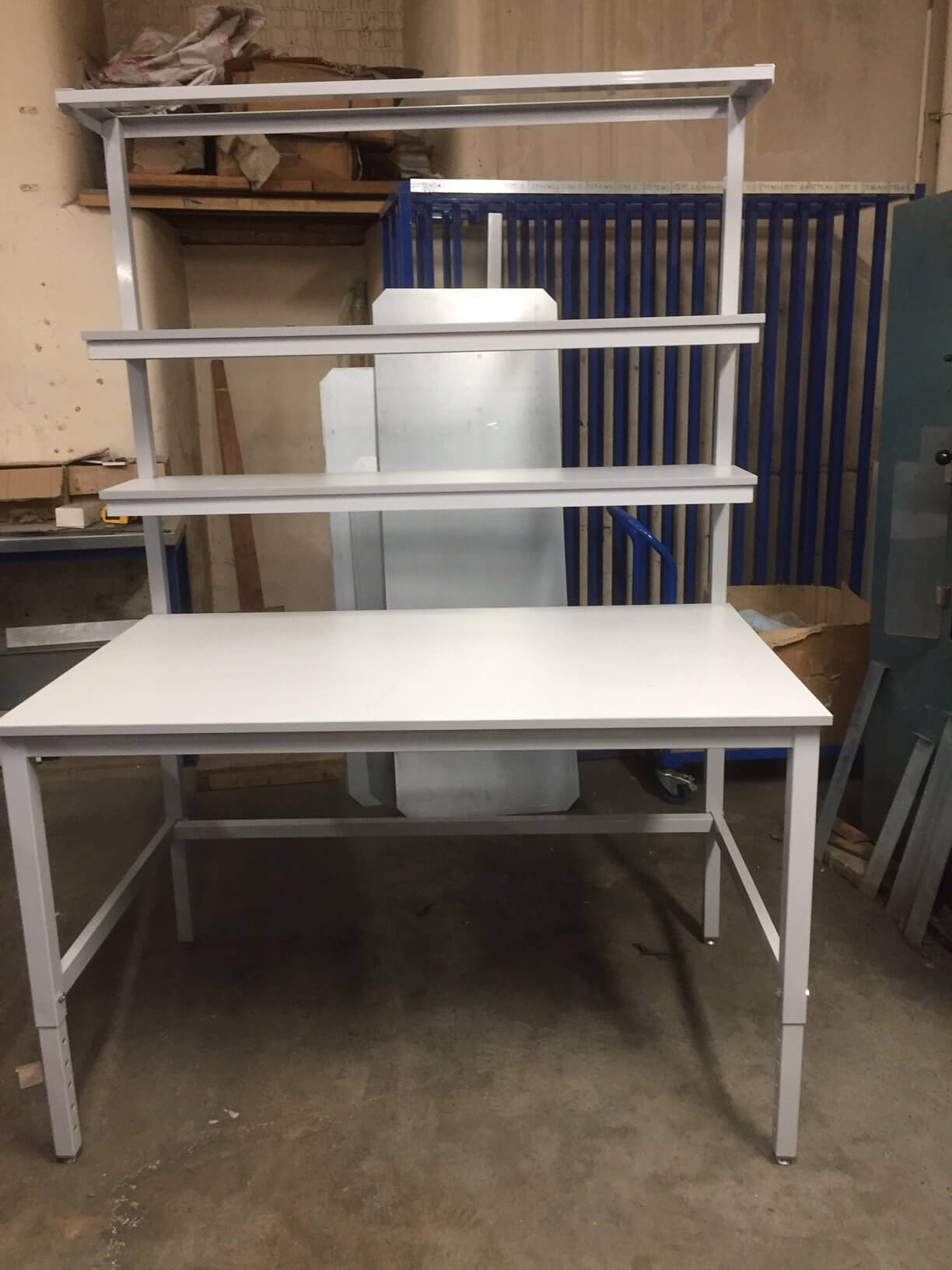 Bargain Height Adjustable Laminate Top Workbench