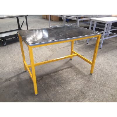 Bargain Medium Duty with rubber over steel Workbench