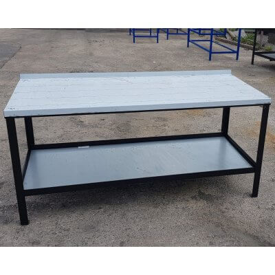 BARGAIN STAINLESS STEEL TOP WORKBENCH