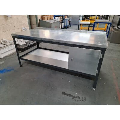 Bargain Wood and Steel Workbench