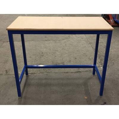 Blue MDF Workbench