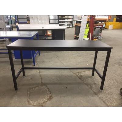 Bargain Black Laminate top medium duty workbench