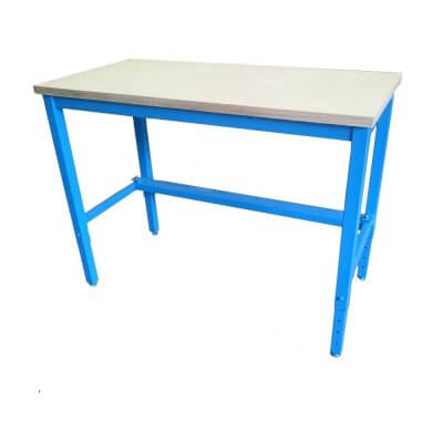 Simple Height Adjustable Workbenches