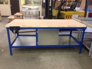 Heavy Duty Workbench with cupboard in middle