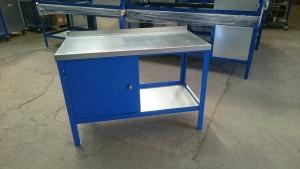 Heavy Duty with blue cupboard
