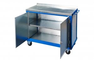 Double door tool tool trolley